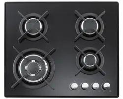 Carysil Built-In 4 Burner Hob (Passilo 60-4) 60 Cm, For Kitchen, Knob Type: Metal