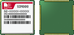SIM808 - SIMCOM - GSM/GPRS GPS Module for Vehicle Tracking