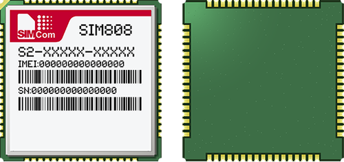 SIM808 - SIMCOM - GSM/GPRS GPS Module