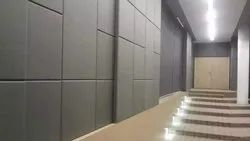 Gray Fabric Acoustic Wall Panel, For Sound Absorbers