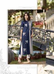Half Sleeve Woman Casual Designer Kurti
