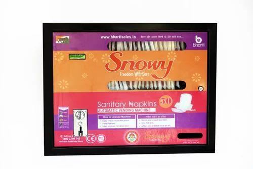Sanitary Napkin Vending Machine - Automatic Sanitary Napkin Vending