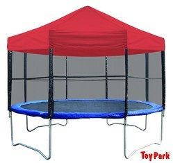 Toy Park 16FT. Trampoline With Canopy & Ladder (PI 554)