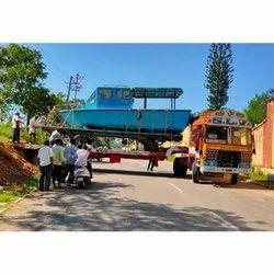 Bangalore 40 Feet Trailer Cargo Transportation Service, Mode Type: Semi Low Bed