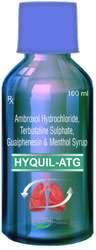 Hyquil ATG Syp - Ambroxol Terbutaline Guaiphenesin Menthol