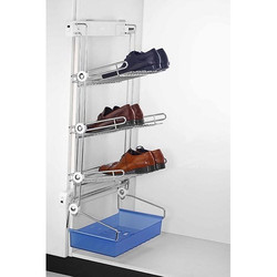 Adjustable Clothes and Shoes Rack Wardrobe
