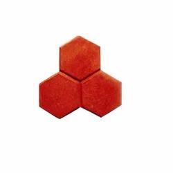 Double Tri Hexa Rubber Mould