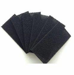 Filter Foam Black Pore Type Sheet, Thickness: 20mm