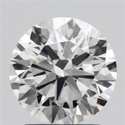 1.61ct Lab Grown Diamond CVD G VVS1 Round Brilliant Cut IGI Crtified Type2A