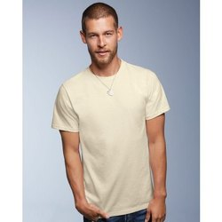 Men Round Neck Organic Cotton T Shirts