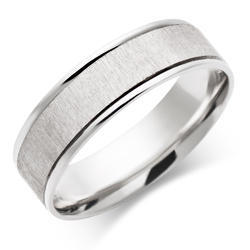 White Gold Ring for Men Gents Diamond Ring Design