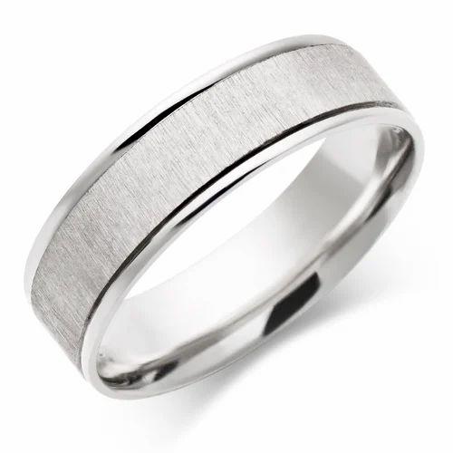 White Gold Ring For Men Gents Diamond Ring Design Safed Sone Ki