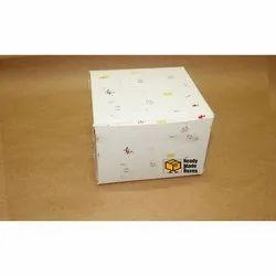 5x5x3.5 inches Pastry Box