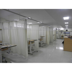 icu curtain track system
