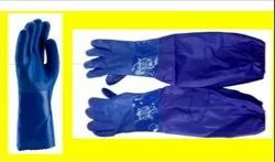 Heavy Duty Full Hand PVC Gloves (Acid &Alkali Handling)