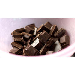 Piece Tasty Dark Chocolate