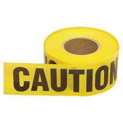 Yellow PE General Caution Safety Tape, Size: 3 Inch