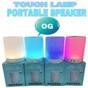 Round 1 Touch Lamp Bluetooth Speaker Cl-671