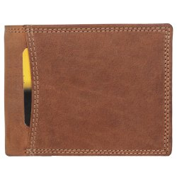 Leather wallet Rfid protected
