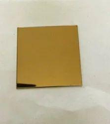 Rose gold mirror sheet 18 gauge
