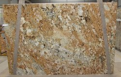 Golden Polished Alaska Gold Granite, Size: Small And Big Size, Thickness: 20-25 mm