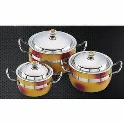 Double Colour Titoni Serving Bowl Set