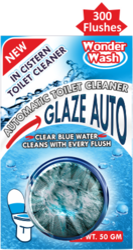 WonderWash Blue Toilet Cleaner Cake