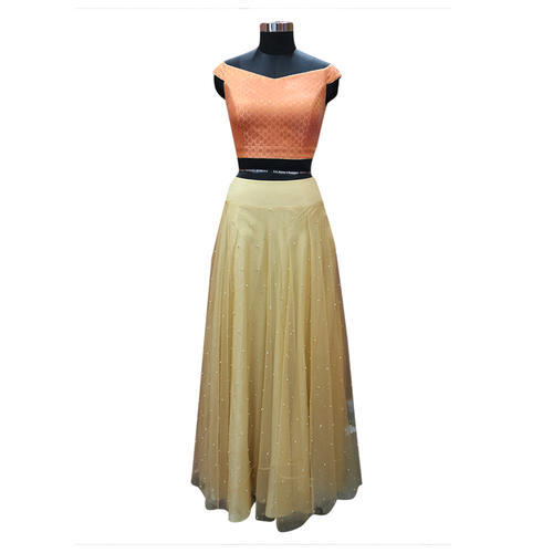 Ladies Designer Lehenga Crop Top Lehenga Manufacturer From New Delhi