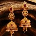 Traditional Gold Earring