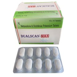 Metaxalone and Diclofenac Potassium Tablets
