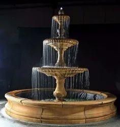 Antique Outdoor Tier Fountain