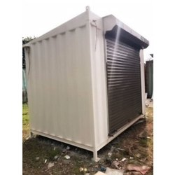 Color Coated MS Portable Shop
