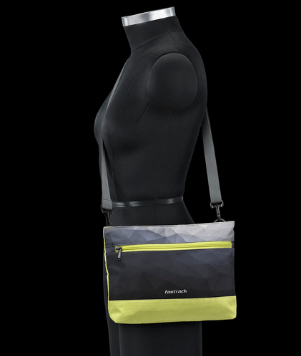 1aa427e748 Women Fastrack Girls Fabric Neon Sling Bags