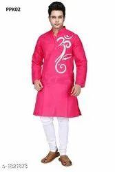 Fancy Cotton Kurta Pajama For Men
