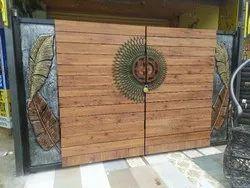 Aluminium Hpl Gate