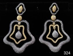 CZ Antique Earring