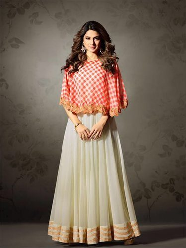 961ebf27940 Georgette Party Wear Indian Ethnic Designer Anarkali Suit