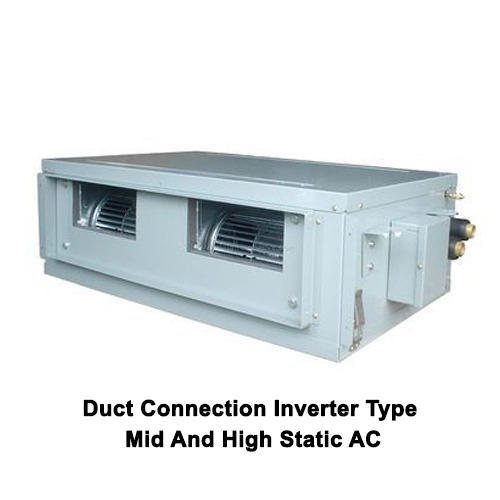 Duct Connection Inverter Type Mid And High Static AC, Duct Air ...