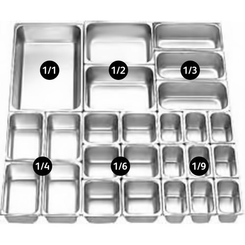 1/1 Size Gn Pans/stainless Steel Gastronome Pan - Buy 1/1