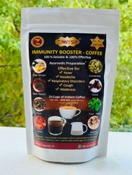Zingysip Immunity Boosting Coffee  (250 Gm.For 25 Cups) Added With  Burnt  Sugar