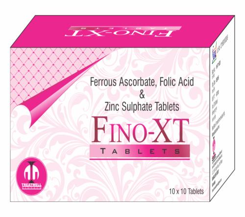 Ferrous Ascorbate 100 Mg ,Folic Acid 1.5mg , Zinc 22.5mg ,v.