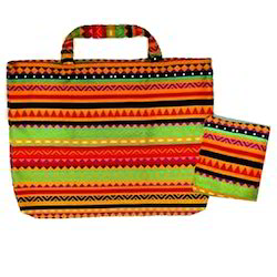 Customised Printed Canvas Jhola Bag