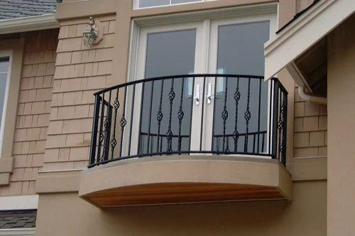 Orlando Wrought Iron Balcony Railing: Wrought Iron Balcony Railing At Rs 550 /feet
