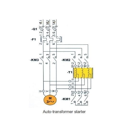 Schematic Diagram Of Auto Transformer Starter