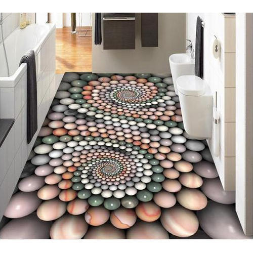 3d Bathroom Floor Tile At Rs 350 Square Feet Mundka New Delhi