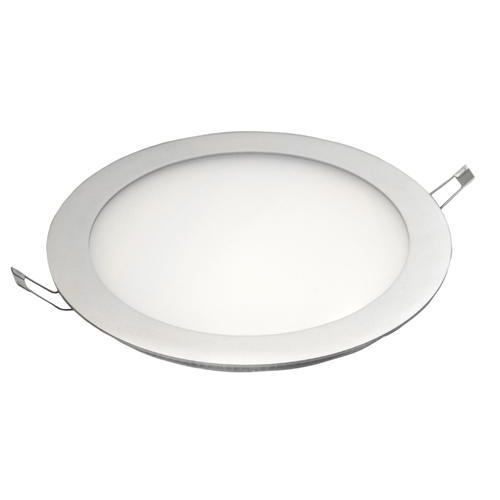 Pure White 12W LED Round Panel Light