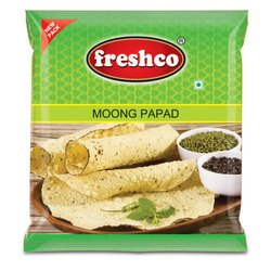 Yellow Mungdal Papad, Moong Dal, Packaging Type: Packet