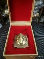 Brass Shree Yantra with box
