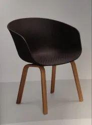 Rajmahal Furnitures Standard Cafe - Restaurant Chair, Seating Capacity: 1