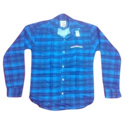 Casual Wear Checked Kids Fancy Check Shirt